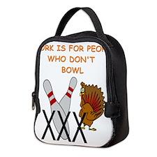 BOWLING3 Neoprene Lunch Bag