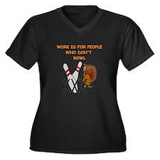 BOWLING3 Plus Size T-Shirt