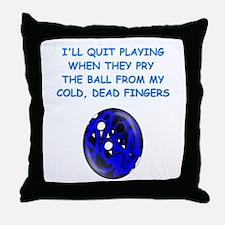 BOWLING2 Throw Pillow