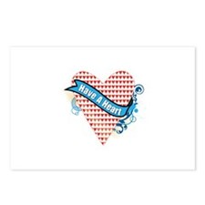 Have a Heart Postcards (Package of 8)