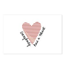 Everyday Has a Heart Postcards (Package of 8)