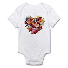 Heart Bouquet Infant Bodysuit