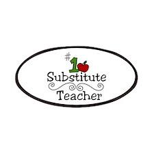 Substitute Teacher Patches