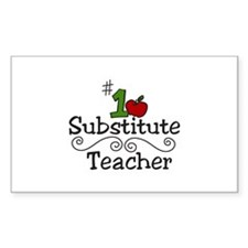 Substitute Teacher Decal