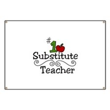 Substitute Teacher Banner