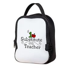 Substitute Teacher Neoprene Lunch Bag