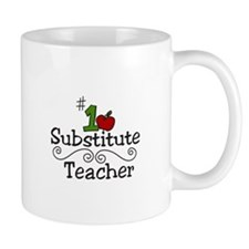Substitute Teacher Mugs