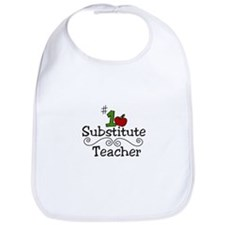 Substitute Teacher Bib