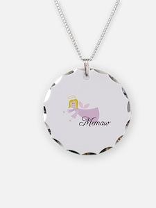 Memaw Angel Necklace