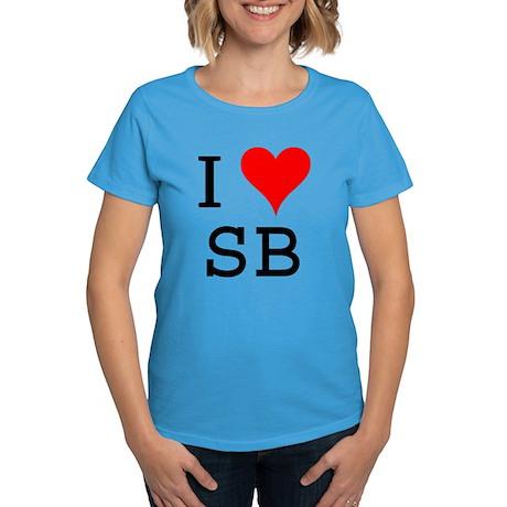 I Love SB Women's Dark T-Shirt