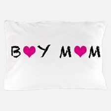 Boy Mom Pillow Case