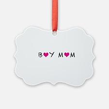 Boy Mom Ornament