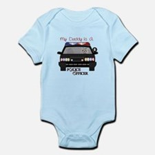 Daddy Is A Police Officer Body Suit