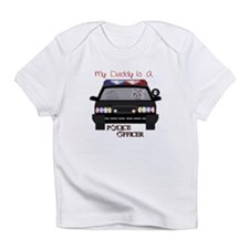Daddy Is A Police Officer Infant T-Shirt