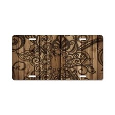 modern pattern barn wood western fashion Aluminum