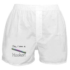 Yes, I am a Hooker! Boxer Shorts