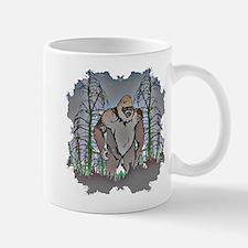 Bigfoot in timber Mug