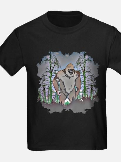 Bigfoot in timber T