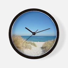 fremantle-beach-242963 Wall Clock
