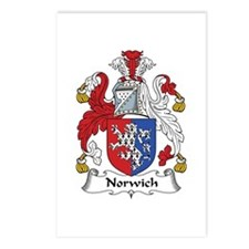 Norwich Postcards (Package of 8)