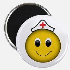 Smiley Nurse Magnets