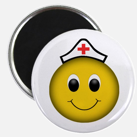 Smiley Nurse Magnets