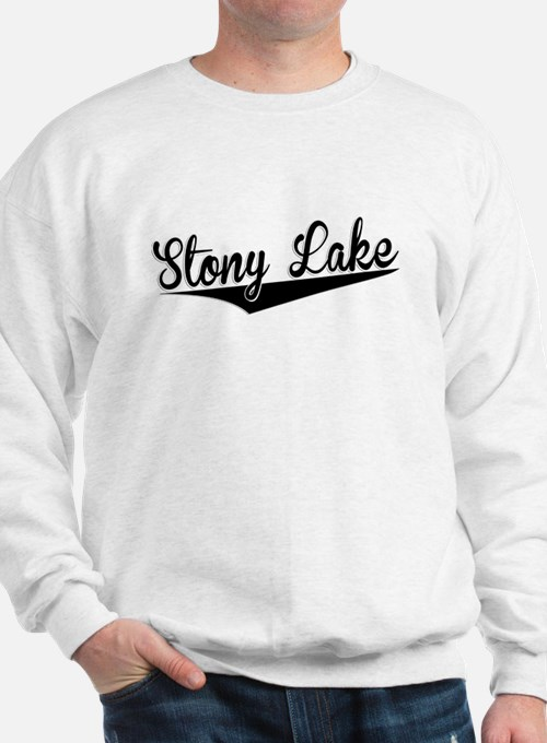 Stony Lake, Retro, Sweatshirt