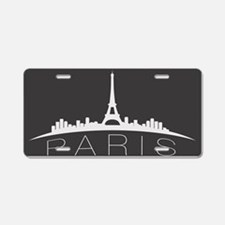 Paris Aluminum License Plate