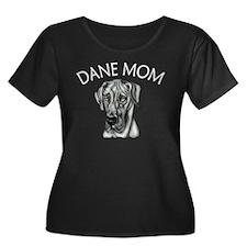 Black UC Dane Mom T