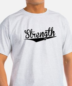 Strength, Retro, T-Shirt