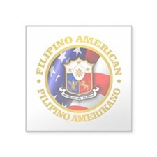 Filipino-American Sticker
