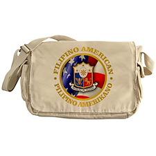 Filipino-American Messenger Bag