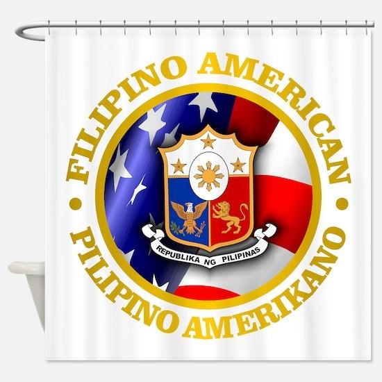 Filipino-American Shower Curtain