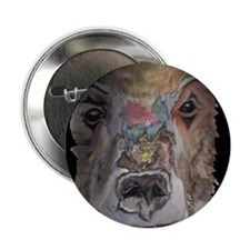 Grizzly Bear Button