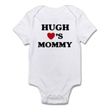 Hugh loves mommy Infant Bodysuit