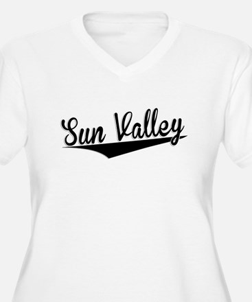 Sun Valley, Retro, Plus Size T-Shirt