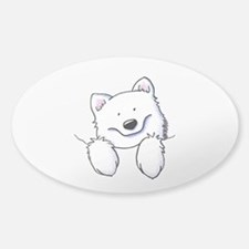 Pocket Eski Sticker (Oval)