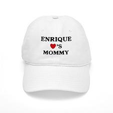 Enrique loves mommy Baseball Cap