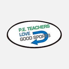 P.E. Teachers Good Sports Patches