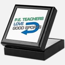 P.E. Teachers Good Sports Keepsake Box