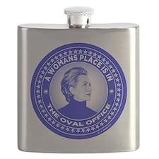 Cute Hillary clinton 2016 Flask