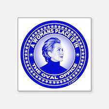 "Unique Political figures Square Sticker 3"" x 3"""