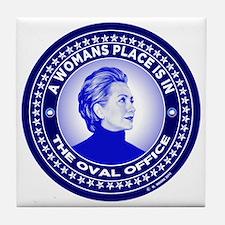 Unique Hillary Tile Coaster