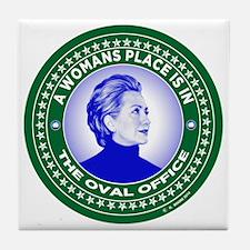 Political figures Tile Coaster