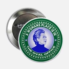 "Funny Clinton 2.25"" Button"
