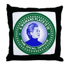 Unique Hillary 2016 Throw Pillow