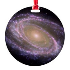 Spiral galaxy NASA image Ornament
