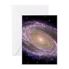 Spiral galaxy NASA image Greeting Cards