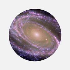 """Spiral galaxy NASA image 3.5"""" Button"""