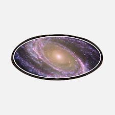 Spiral galaxy NASA image Patches
